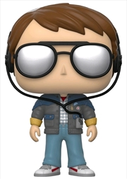 Back to the Future - Marty with Sunglasses Pop! Vinyl | Pop Vinyl