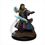 Dungeons & Dragons - Icons of the Realms Premium Human Wizard Male | Games