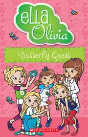 Ella And Olivia #27: Butterfly Quest | Paperback Book