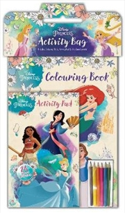 Disney Princess: Activity Bag | Colouring Book