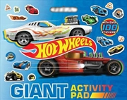 Hot Wheels: Giant Activity Pad (mattel) | Colouring Book