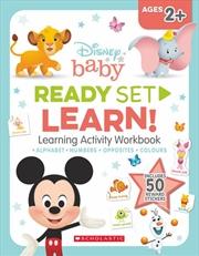Disney Baby: Ready-set-learn Workbook | Paperback Book