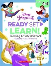 Disney Princess: Ready-set-learn Workbook | Paperback Book