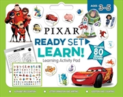 Disney-pixar: Ready Set Learn! Learning Activity Pad | Paperback Book