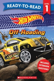 Hot Wheels: Off Roading - Ready-to-read Level 1 (mattel) | Paperback Book