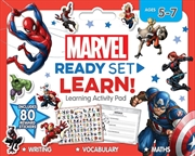 Marvel: Ready Set Learn! Learning Activity Pad | Paperback Book