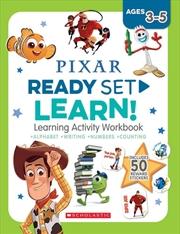 Disney-pixar: Ready-set-learn Workbook | Paperback Book