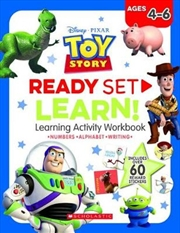 Toy Story: Ready Set Learn! Learning Activity Workbook (disney) | Paperback Book