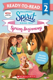 Spirit Riding Free: Spring Beginnings - Ready-to-read Level 2 (dreamworks) | Paperback Book