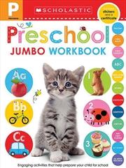 Preschool Jumbo Workbook | Paperback Book