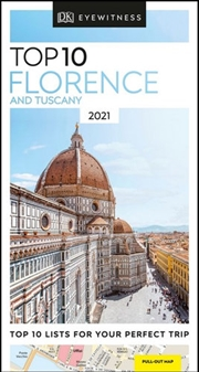 Dk Eyewitness Top 10 Florence And Tuscany   Paperback Book