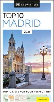 Top 10 Madrid   Paperback Book