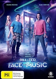 Bill and Ted Face The Music | DVD