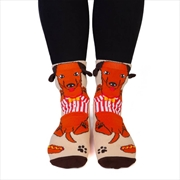 Dachshund Feet Speak Socks | Apparel