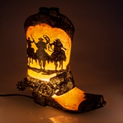 Cowboy Boot Table Lamp | Accessories