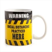 Social Distancing Warning Sign Coffee Mug | Merchandise