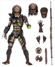 "Predator - City Hunter Battle Damaged Ultimate 7"" Action Figure | Merchandise"