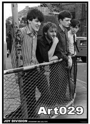 Joy Division Fence | Merchandise