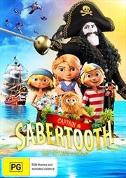 Captain Sabertooth And The Magic Diamond | DVD