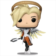 Overwatch - Mercy Blizzard 30th Anniversary Diamond Glitter US Exclusive Pop! Vinyl [RS] | Pop Vinyl