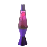 Purple/Pink/Purple Metallic Diamond Motion Lamp | Accessories
