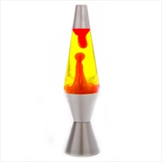 Silver/Red/Yellow Diamond Motion Lamp | Accessories