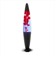 Black/Red/Blue Peace Motion Lamp | Accessories