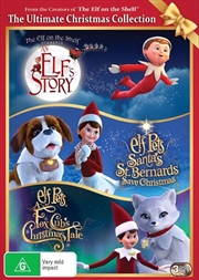 An Elf's Story - The Elf On The Shelf / Elf Pets - Santa's St. Bernard's Save Christmas / Elf Pets - | DVD