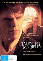 Talented Mr. Ripley, The   DVD