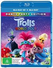 Trolls World Tour | 3D + 2D Blu-ray | Blu-ray 3D