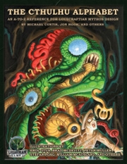 Cthulhu Alphabet RPG Supplement Hardback | Merchandise