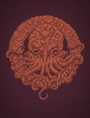 Cthulhu Alphabet RPG Supplement Hardback -Bronze Foil Printing | Merchandise