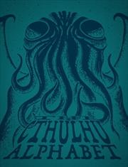 Cthulhu Alphabet RPG Supplement Hardback -Cerulean Foil Printing | Merchandise