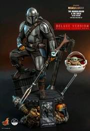 Star Wars: The Mandalorian - Mandalorian & The Child Deluxe 1:4 Scale Action Figure Set | Merchandise