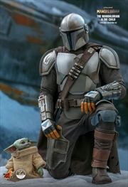 Star Wars: The Mandalorian - Mandalorian & The Child 1:4 Scale Action Figure Set | Merchandise