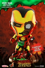 Marvel Zombies - Iron Man Fluorescent Cosbaby | Merchandise