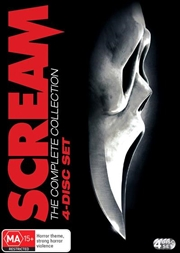 Scream / Scream 2 / Scream 3 / Scream 4 | 4 Movie Franchise Pack | DVD