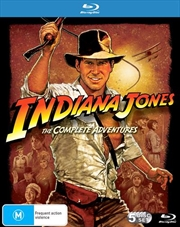 Indiana Jones - Complete Blu-ray Collection | Boxset | Blu-ray