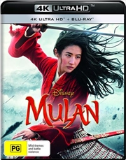 Mulan | Blu-ray + UHD - Live Action | UHD