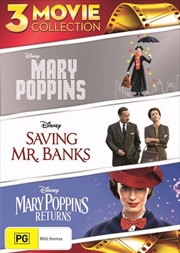 Mary Poppins | 3 Movie Collection | DVD