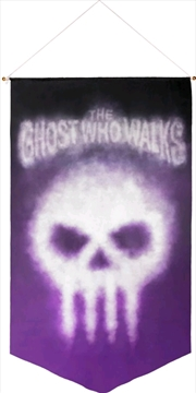 The Phantom - The Ghost Who Walks Satin Wall Banner | Merchandise