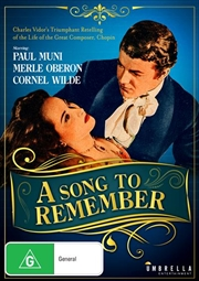 A Song To Remember | DVD