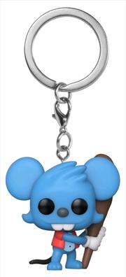 The Simpsons - Itchy Pocket Pop! Keychain | Pop Vinyl