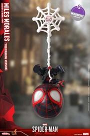 Spider-Man: Miles Morales - Miles Morales Web Hanging Cosbaby | Merchandise