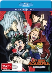 My Hero Academia - Season 4 - Part 1 | Blu-ray + DVD | Blu-ray