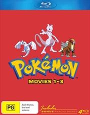 Pokemon - Movie 1-3 | Collector's Edition | Blu-ray