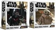 Star Wars - Mandalorian 1000 Piece Puzzle (Assorted Design - Sent At Random) | Merchandise