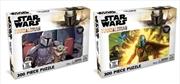 Star Wars - Mandalorian 300 Piece Puzzle (Assorted Design - Sent At Random) | Merchandise
