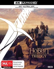 Hobbit Trilogy | UHD - Theatrical + Extended Edition | UHD