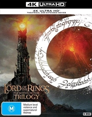 Lord Of The Rings Trilogy | UHD - Theatrical + Extended Edition, The | UHD